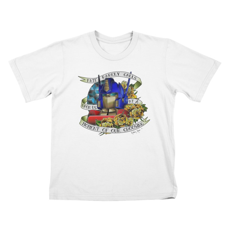 Robots in Disguise Kids T-Shirt by sketchesbecrazy