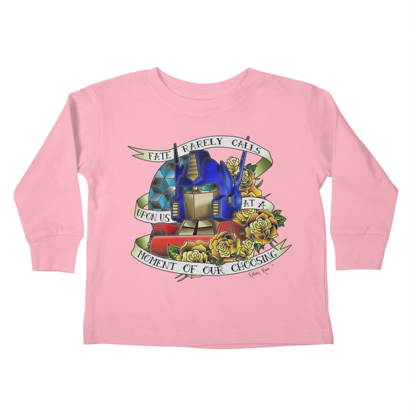 Robots in Disguise Kids Toddler Longsleeve T-Shirt by sketchesbecrazy