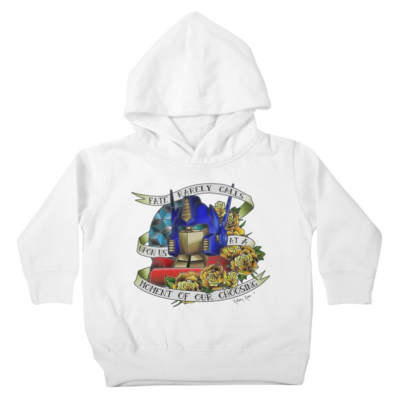 Robots in Disguise Kids Toddler Pullover Hoody by sketchesbecrazy