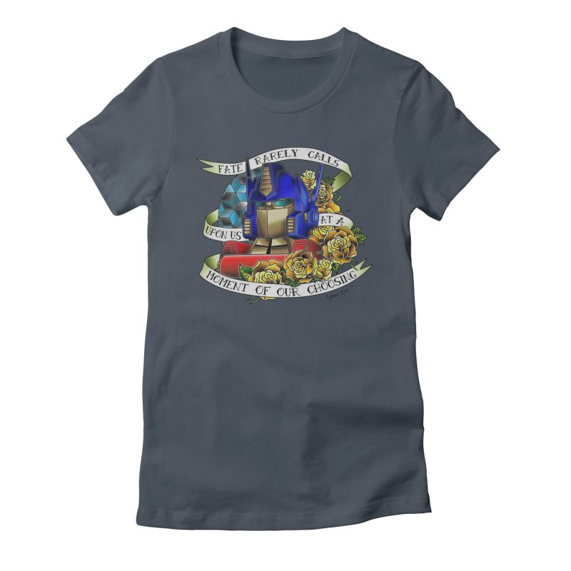 Robots in Disguise Women's T-Shirt by sketchesbecrazy