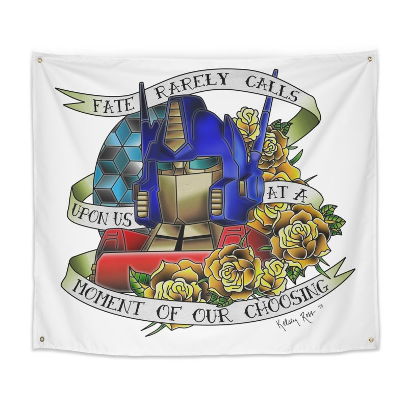 Robots in Disguise Home Tapestry by sketchesbecrazy