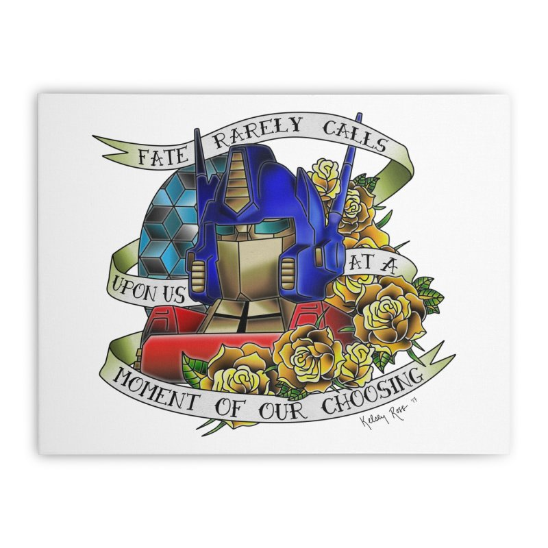 Robots in Disguise Home Stretched Canvas by sketchesbecrazy
