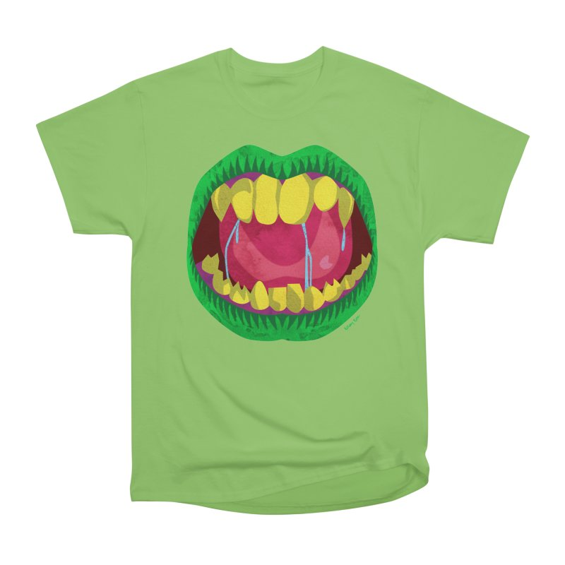 Open Wide and Say AHHH! Women's Heavyweight Unisex T-Shirt by sketchesbecrazy