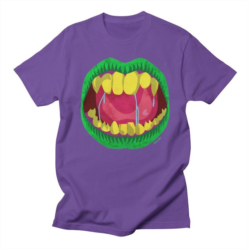 Open Wide and Say AHHH! Men's Regular T-Shirt by sketchesbecrazy
