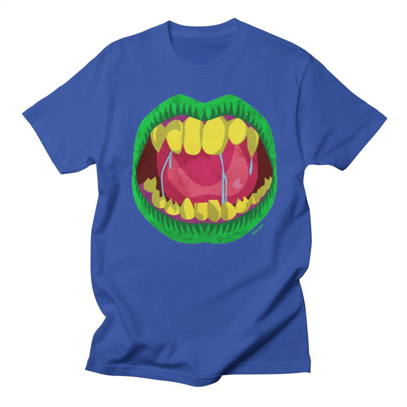 Open Wide and Say AHHH! Men's T-Shirt by sketchesbecrazy