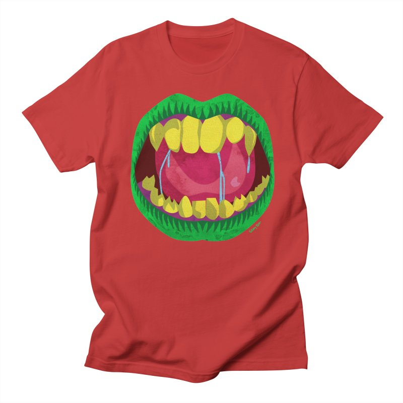 Open Wide and Say AHHH! Men's Regular T-Shirt by sketchesbecrazy
