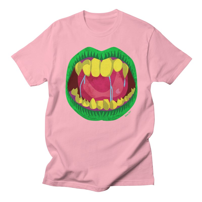 Open Wide and Say AHHH! Women's Regular Unisex T-Shirt by sketchesbecrazy