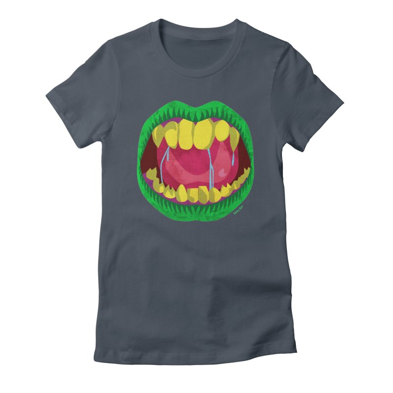 Open Wide and Say AHHH! Women's T-Shirt by sketchesbecrazy
