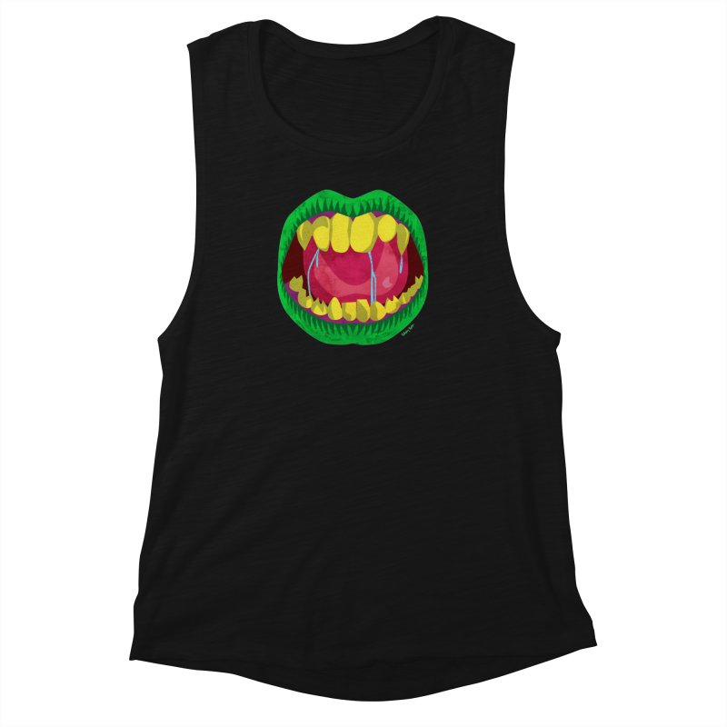 Open Wide and Say AHHH! Women's Tank by sketchesbecrazy