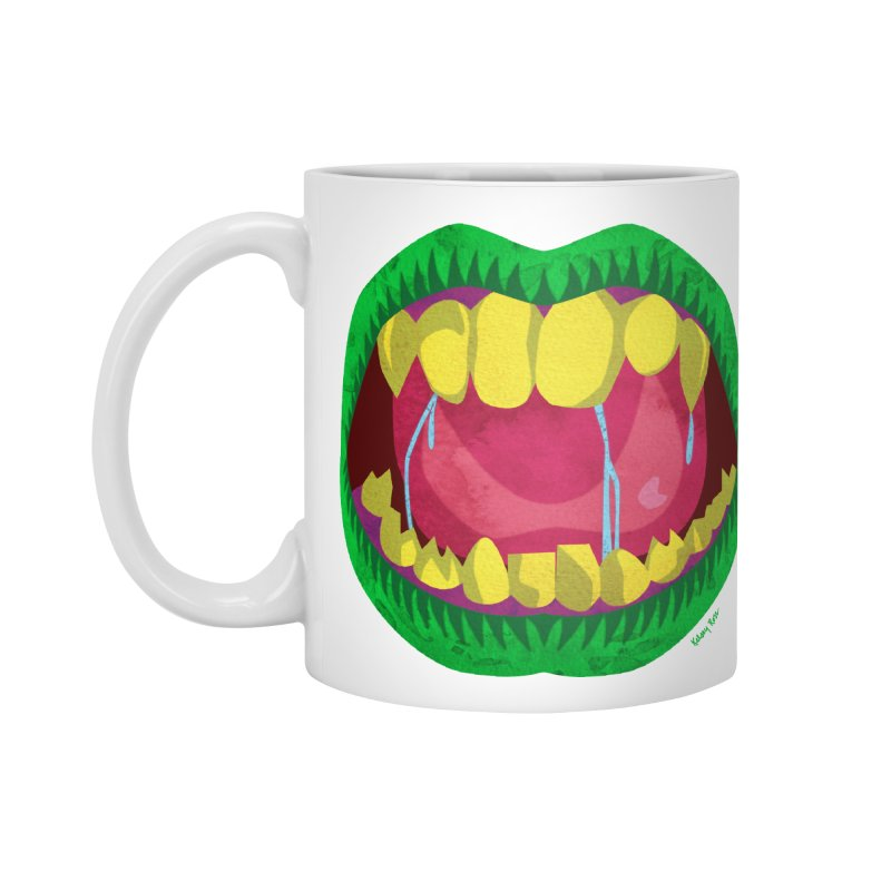 Open Wide and Say AHHH! Accessories Mug by sketchesbecrazy