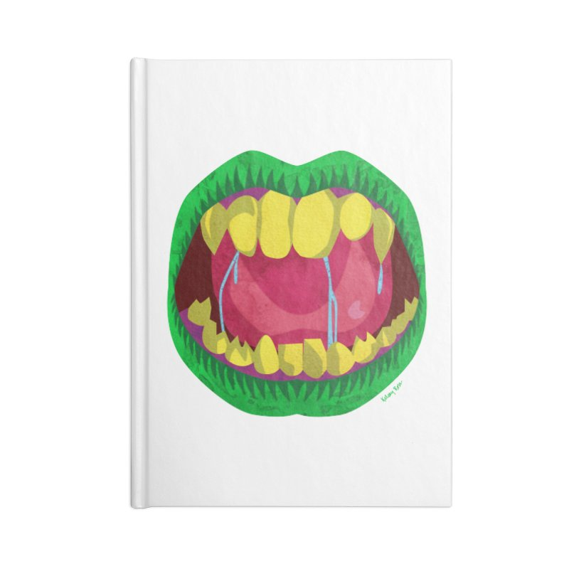Open Wide and Say AHHH! Accessories Blank Journal Notebook by sketchesbecrazy