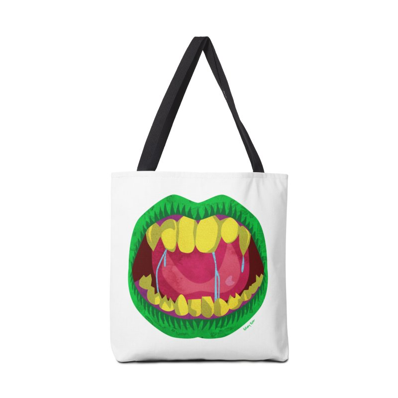 Open Wide and Say AHHH! Accessories Bag by sketchesbecrazy