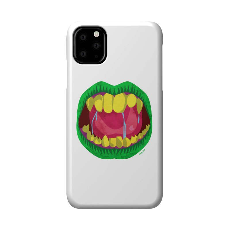 Open Wide and Say AHHH! Accessories Phone Case by sketchesbecrazy