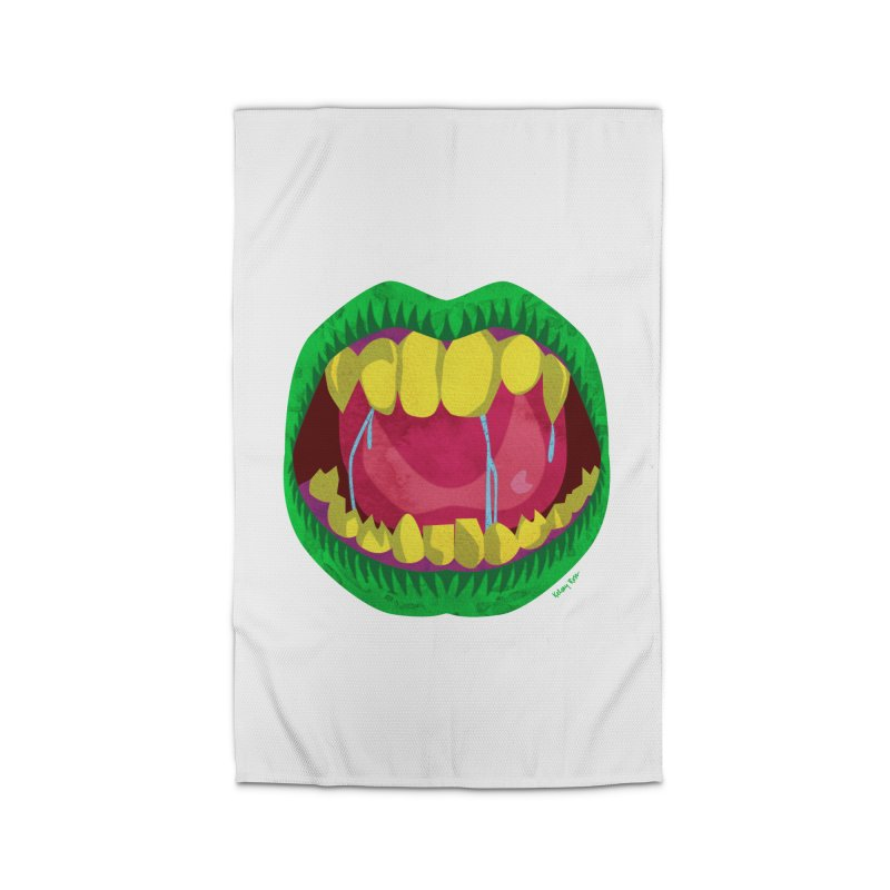 Open Wide and Say AHHH! Home Rug by sketchesbecrazy