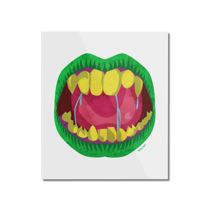 Open Wide and Say AHHH! Home Mounted Acrylic Print by sketchesbecrazy