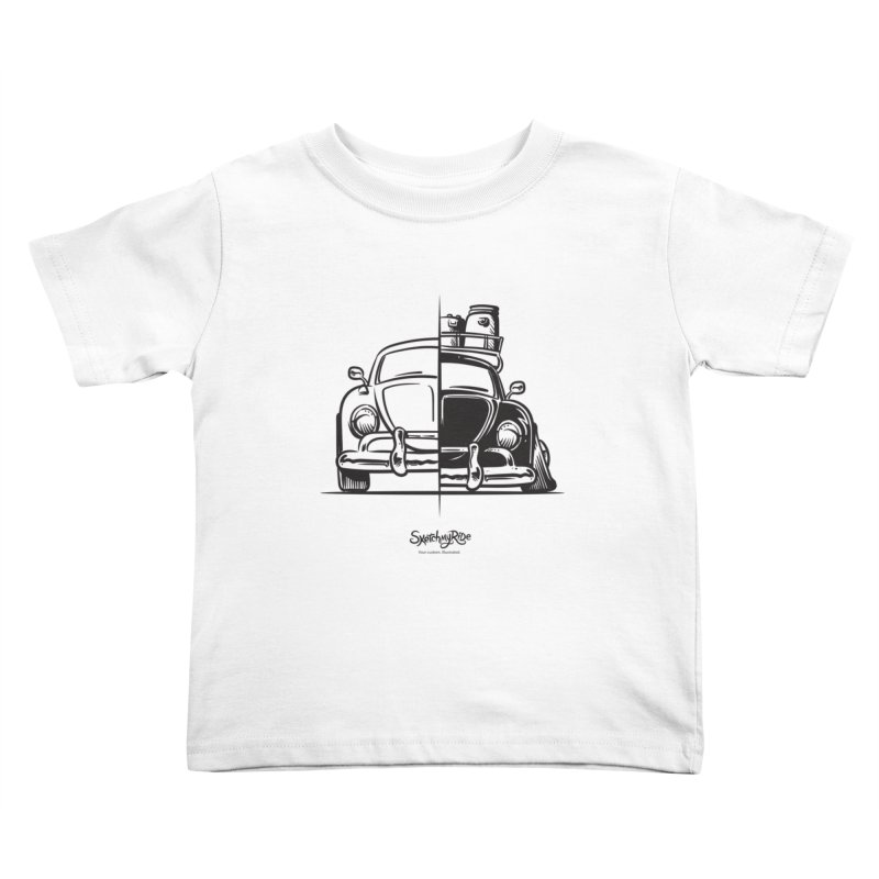 How do you roll?  Kids Toddler T-Shirt by sketchmyride's Shop
