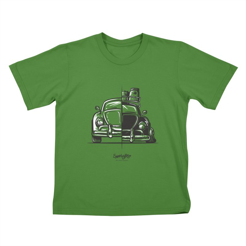 How do you roll?  Kids T-Shirt by sketchmyride's Shop