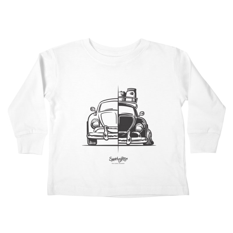 How do you roll?  Kids Toddler Longsleeve T-Shirt by sketchmyride's Shop