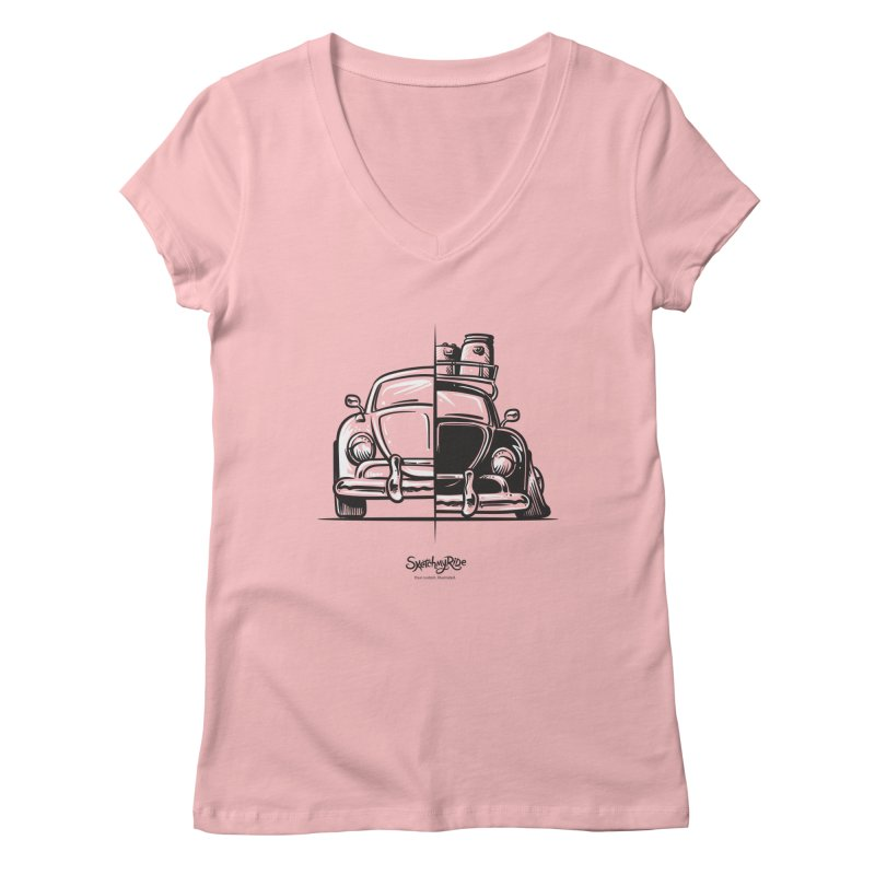 How do you roll?  Women's V-Neck by sketchmyride's Shop