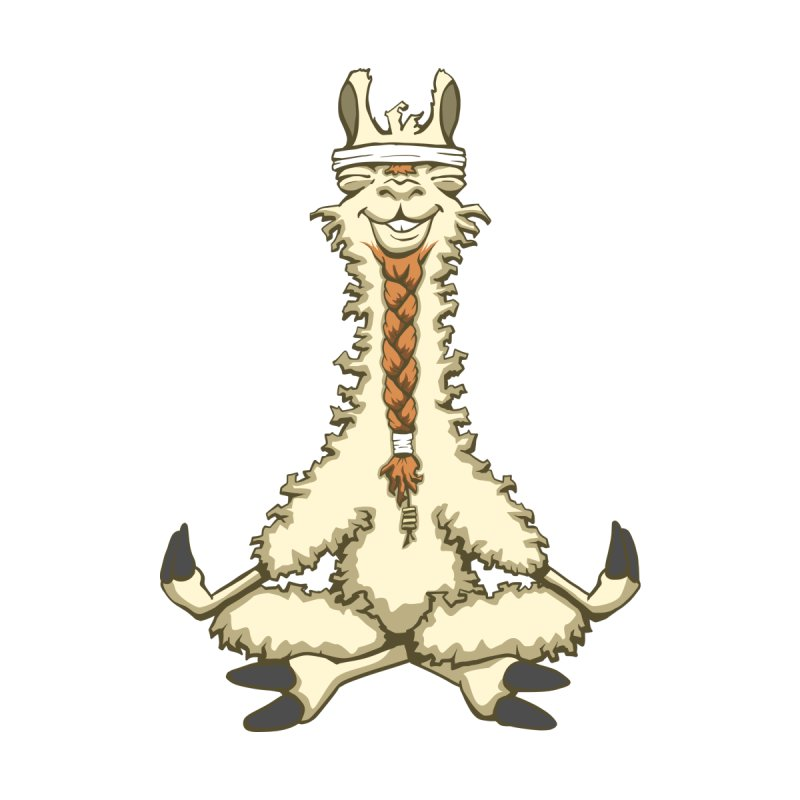 Meditating Llama by sketchtodigital's Artist Shop