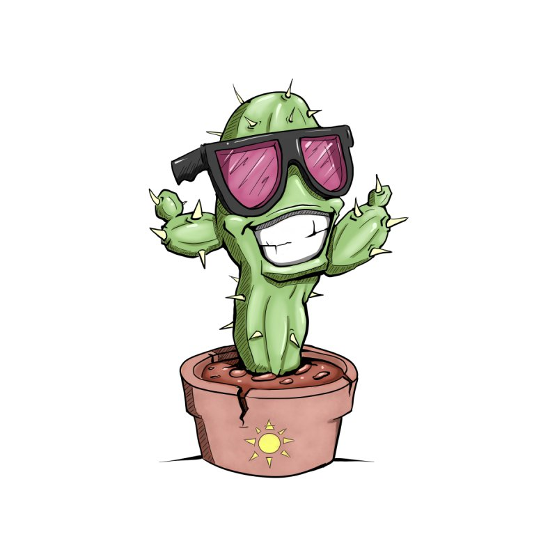 Cool Cactus by sketchtodigital's Artist Shop