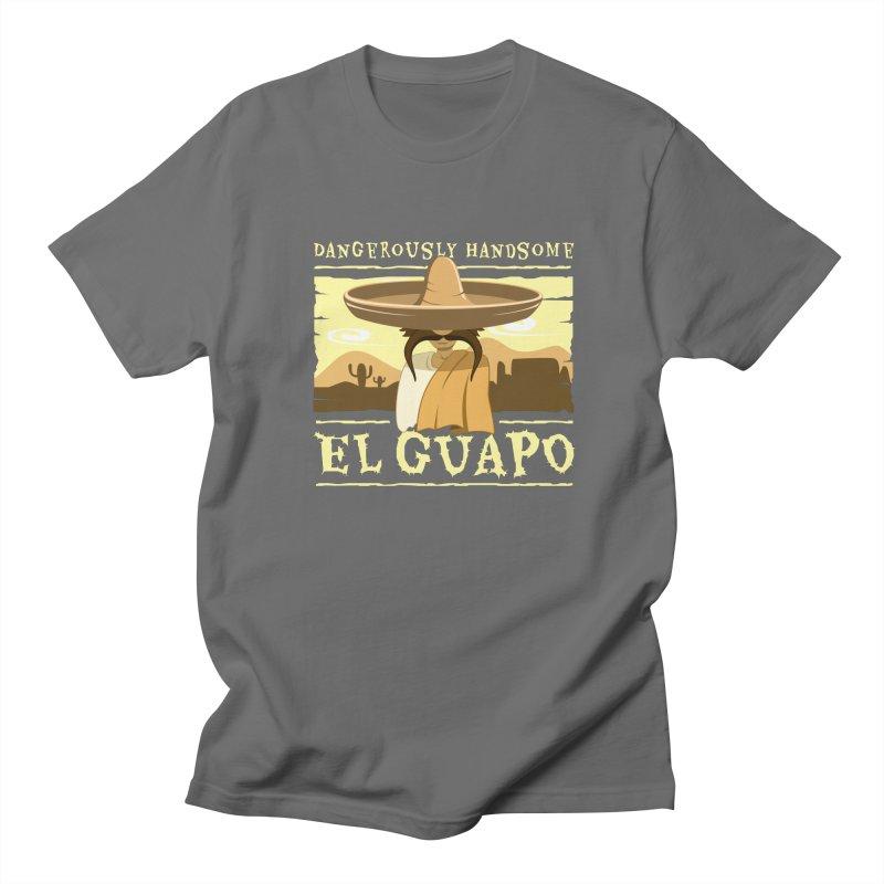 Dangerously Handsome - El Guapo Men's T-Shirt by sketchtodigital's Artist Shop
