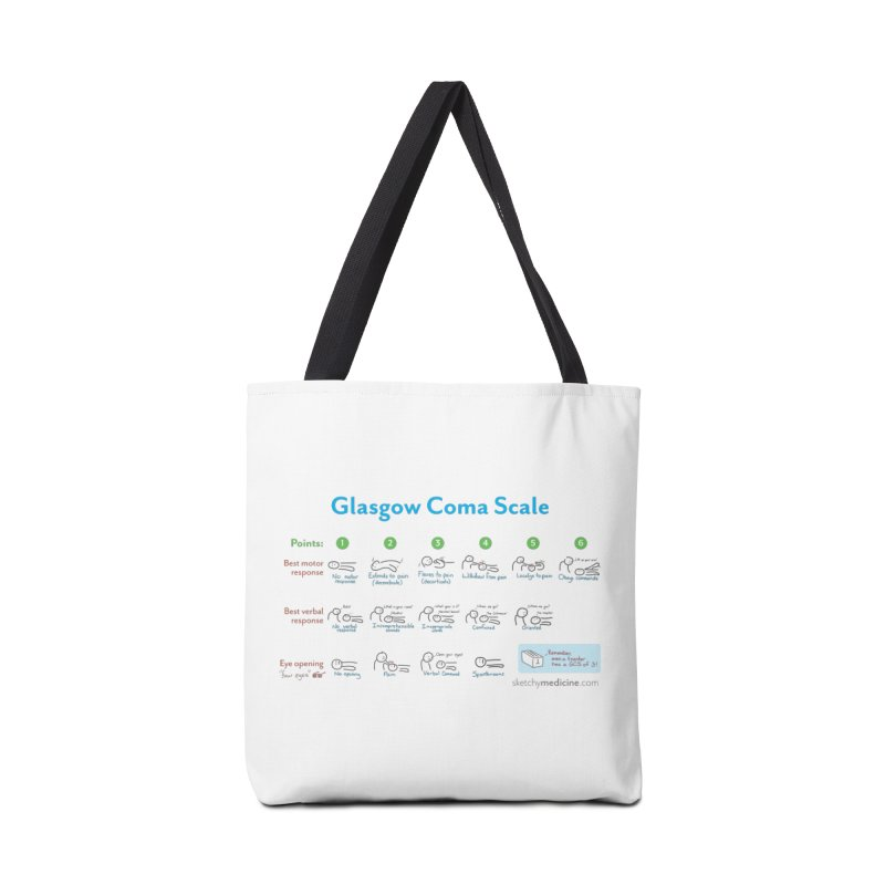 Never forget the GCS Accessories Tote Bag Bag by Sketchy Medicine Shop