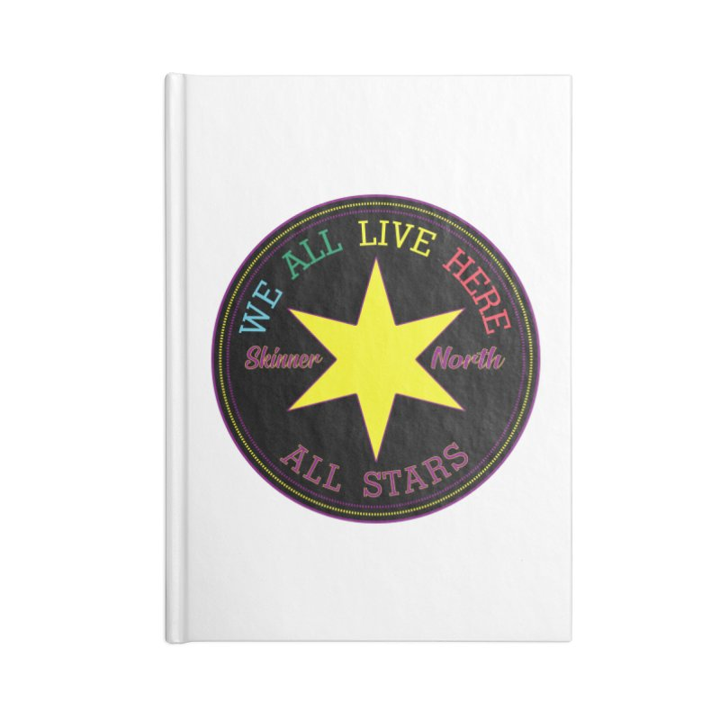 we all live here at Skinner North Accessories Notebook by SuperStore