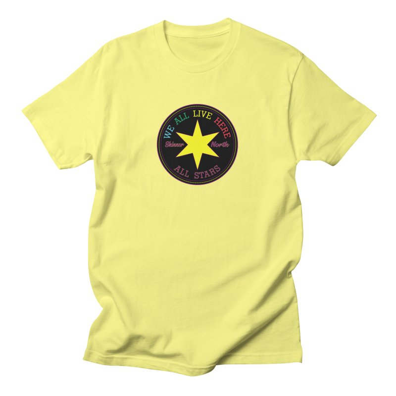 we all live here at Skinner North Women's T-Shirt by SuperStore