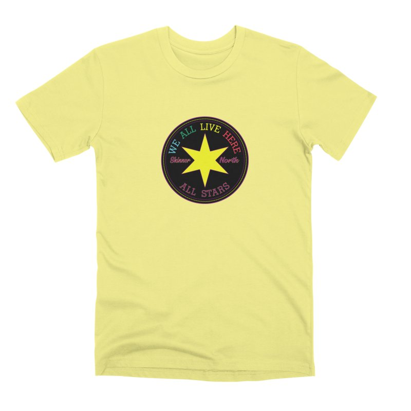 we all live here at Skinner North Men's T-Shirt by SuperStore