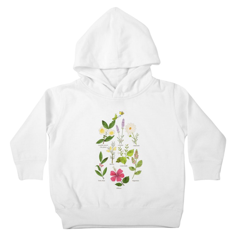Tea Time Kids Toddler Pullover Hoody by skinnyandy's Artist Shop