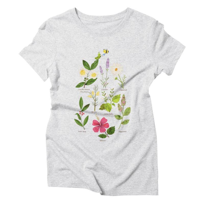 Tea Time Women's Triblend T-Shirt by skinnyandy's Artist Shop