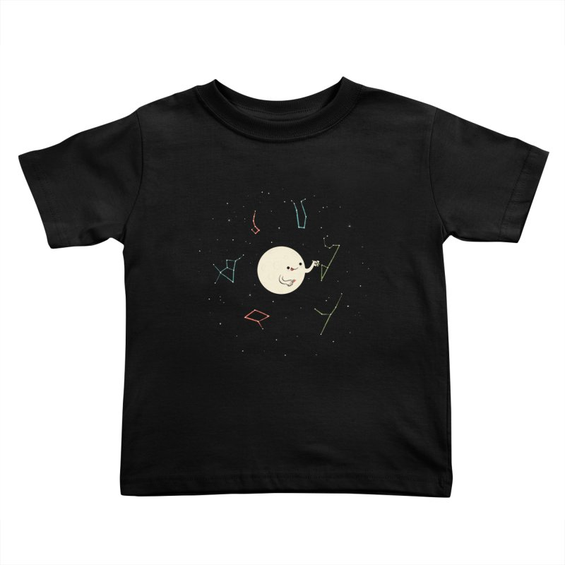 Drawing the Constellations Kids Toddler T-Shirt by skinnyandy's Artist Shop
