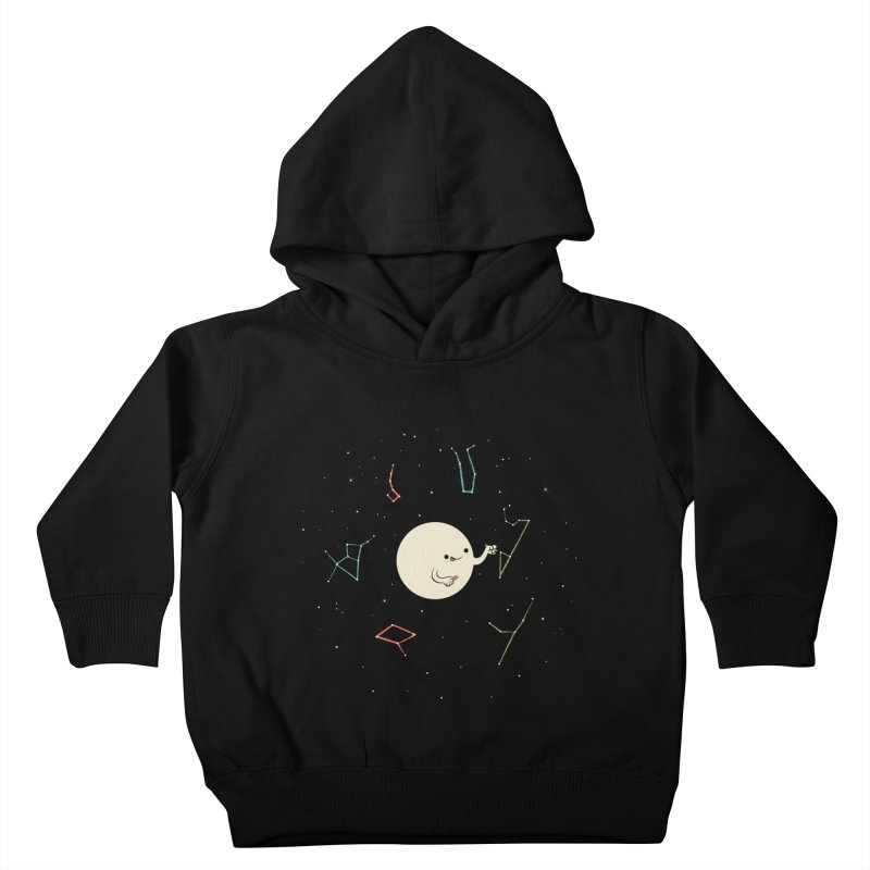 Drawing the Constellations Kids Toddler Pullover Hoody by skinnyandy's Artist Shop