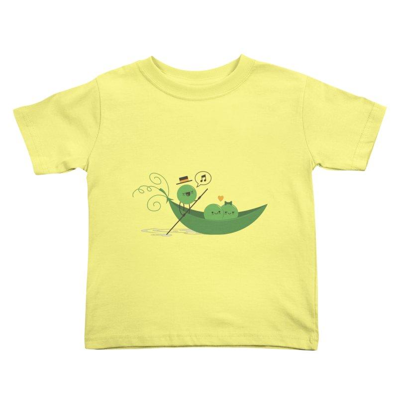 Gondola Ride Kids Toddler T-Shirt by skinnyandy's Artist Shop