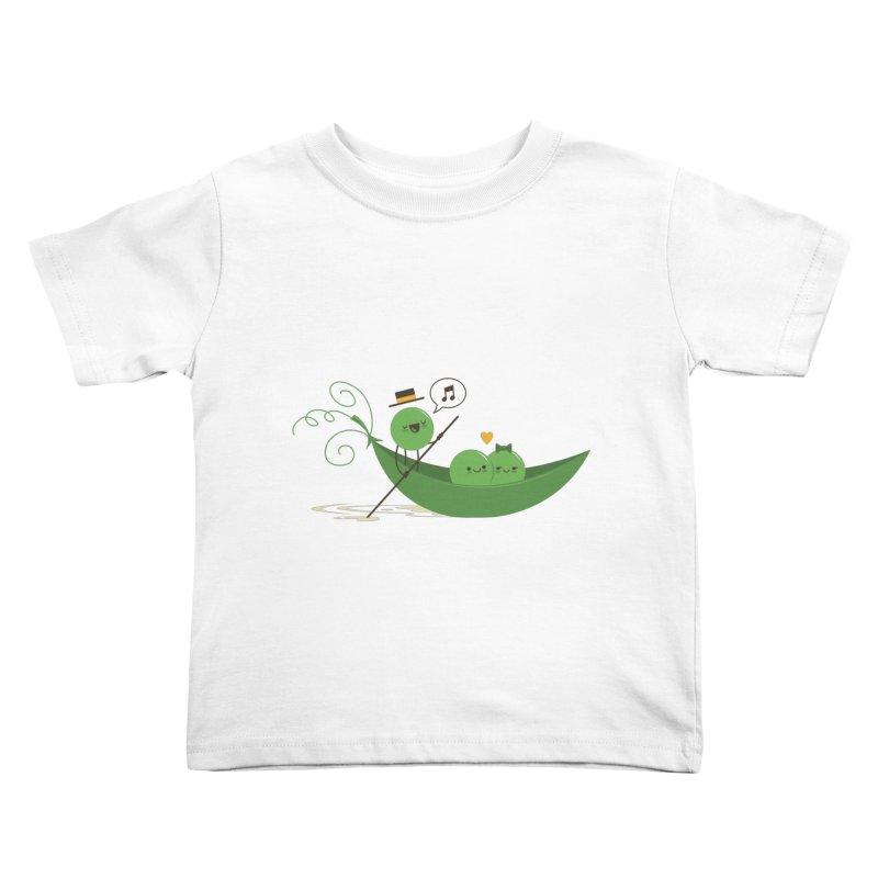 Gondola Ride Kids Toddler T-Shirt by skinnyandy's Artist Shop