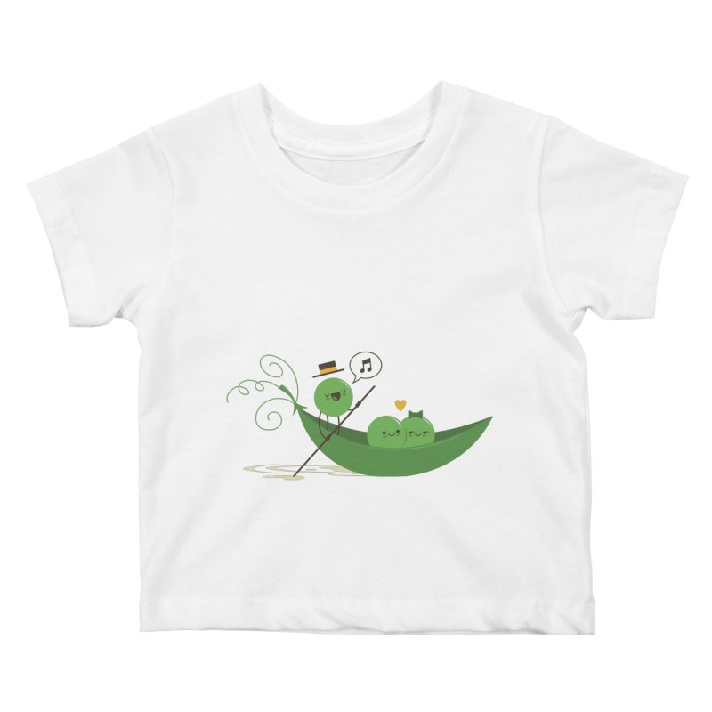 Gondola Ride Kids Baby T-Shirt by skinnyandy's Artist Shop