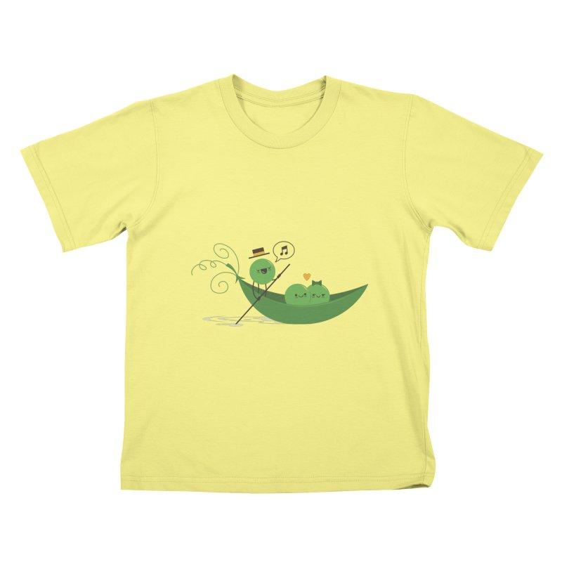 Gondola Ride Kids T-shirt by skinnyandy's Artist Shop