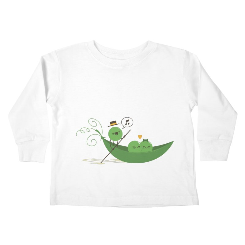 Gondola Ride Kids Toddler Longsleeve T-Shirt by skinnyandy's Artist Shop