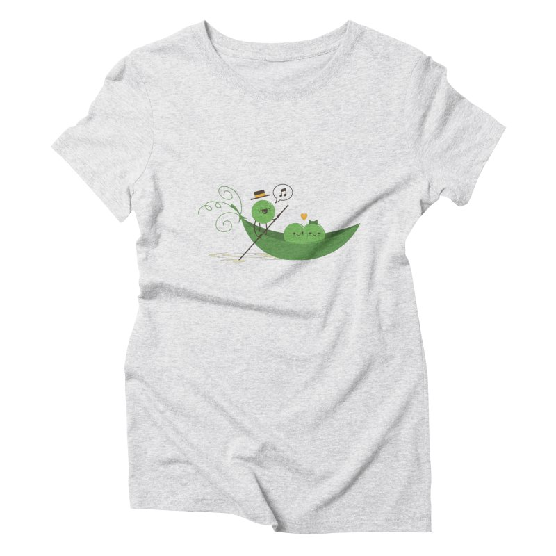 Gondola Ride Women's Triblend T-Shirt by skinnyandy's Artist Shop
