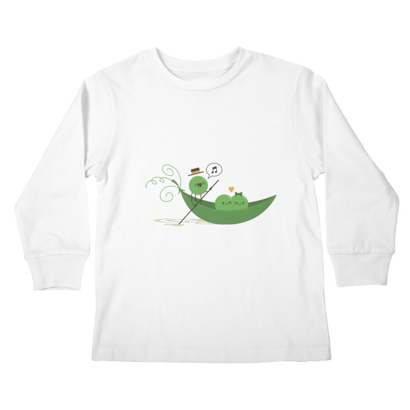 Gondola Ride Kids Longsleeve T-Shirt by skinnyandy's Artist Shop