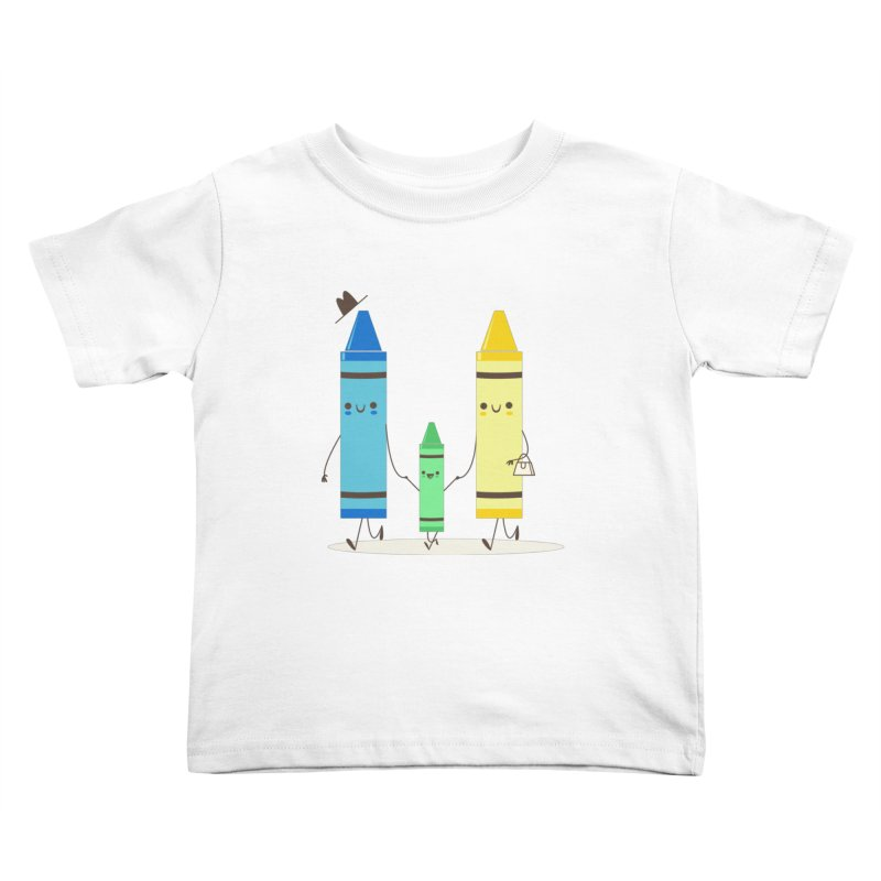Color Theory Kids Toddler T-Shirt by skinnyandy's Artist Shop