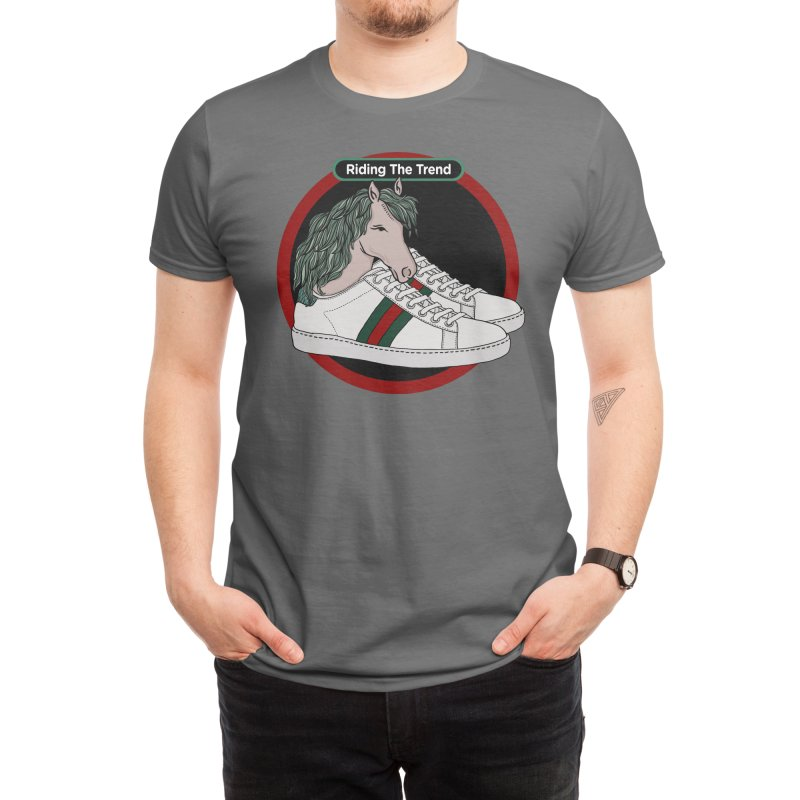 Riding The Trend Men's T-Shirt by skinnypop
