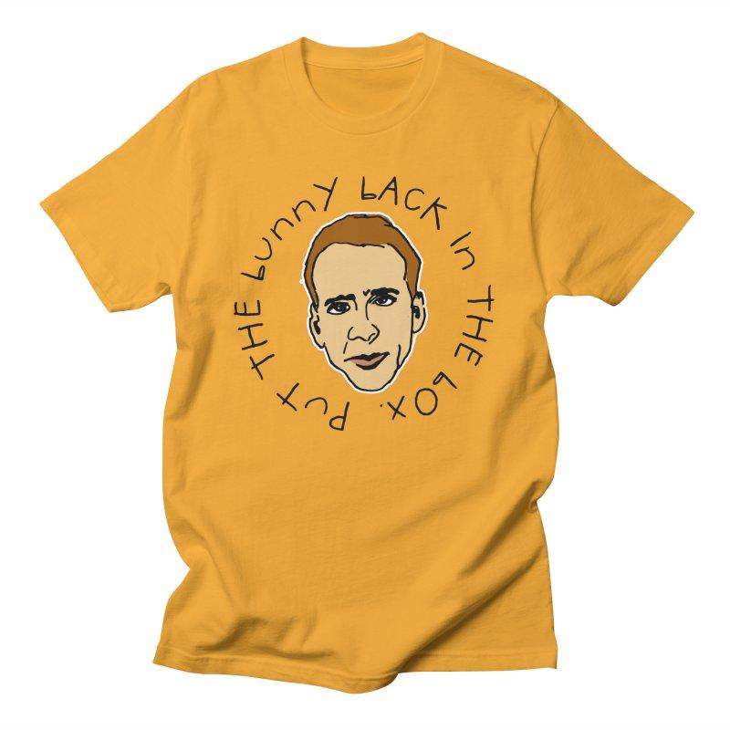Put the Bunny Back Men's T-Shirt by Skippy Fantastic's Pop Culture Emporium