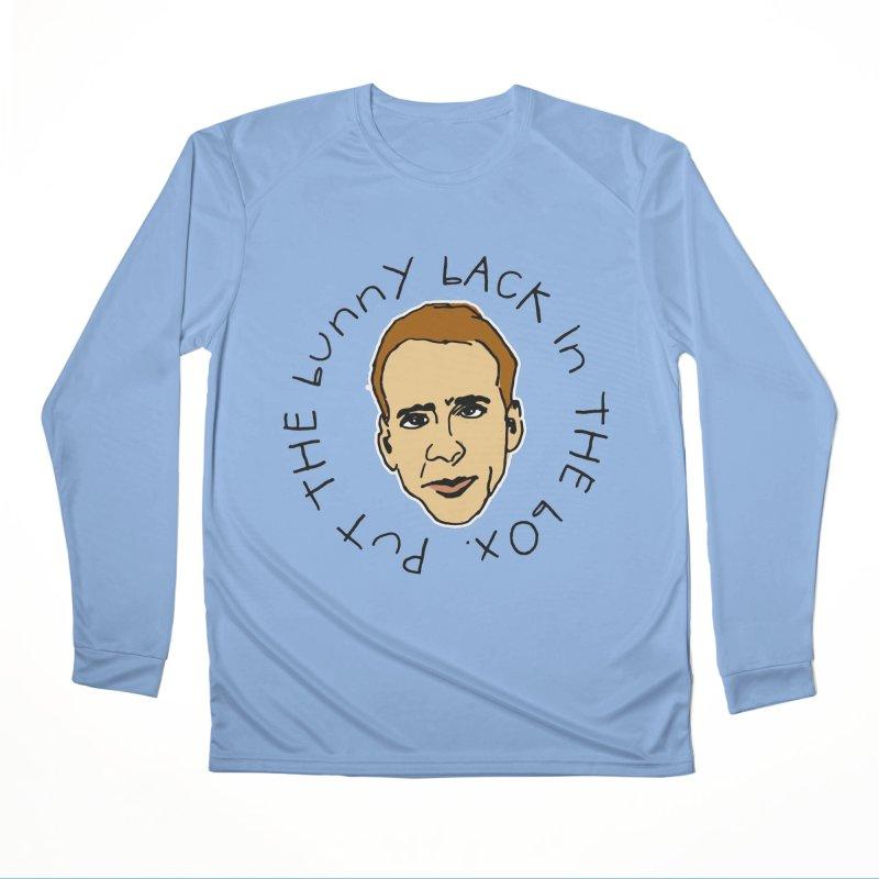 Put the Bunny Back Men's Longsleeve T-Shirt by Skippy Fantastic's Pop Culture Emporium