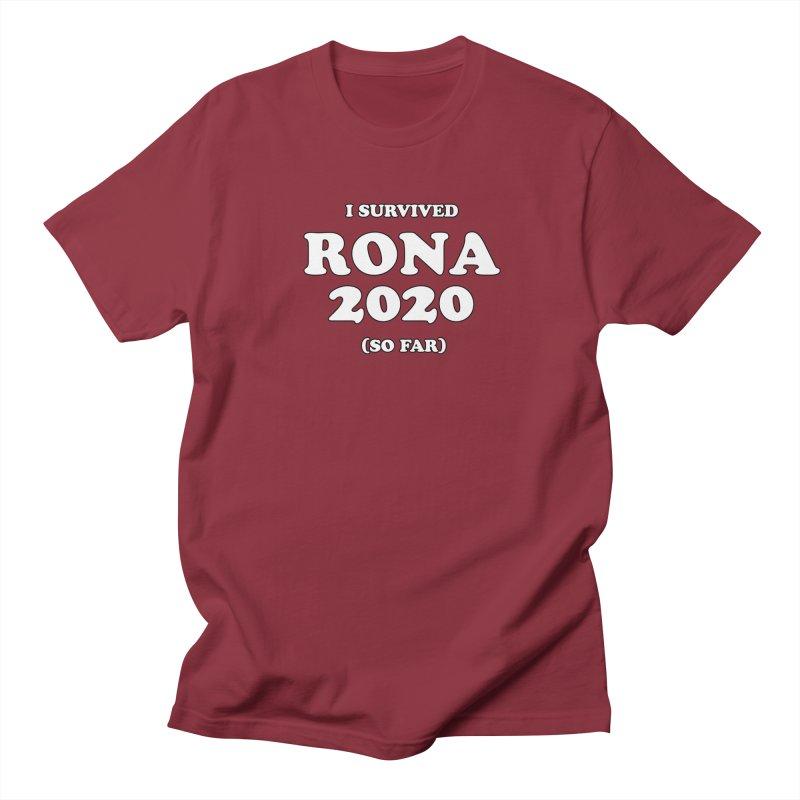 I Survived RONA 2020 Men's T-Shirt by Skippy Fantastic's Pop Culture Emporium