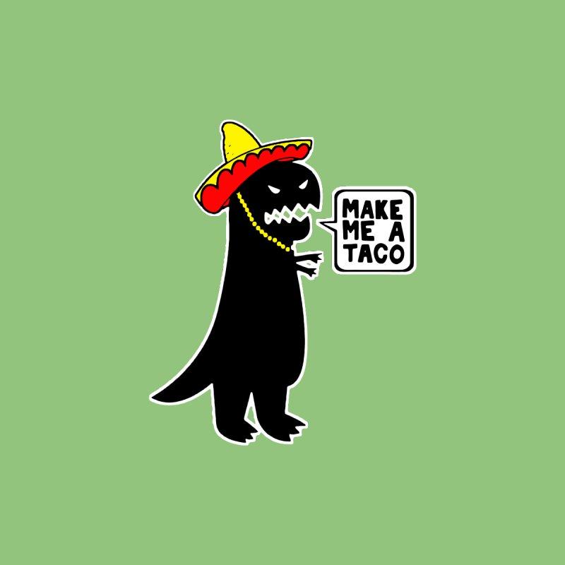 Make Me a Taco Men's T-Shirt by Skippy Fantastic's Pop Culture Emporium