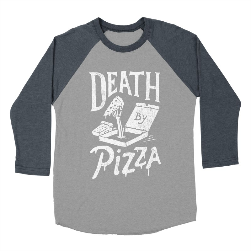 Death By Pizza Women's Longsleeve T-Shirt by skitchism's Artist Shop