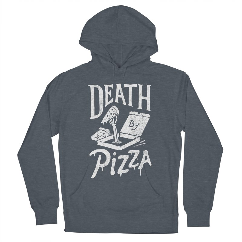 Death By Pizza Women's Pullover Hoody by skitchism's Artist Shop
