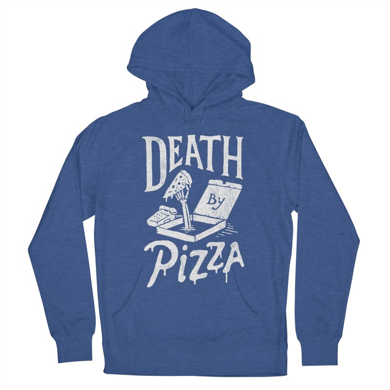 Death By Pizza Men's Pullover Hoody by skitchism's Artist Shop